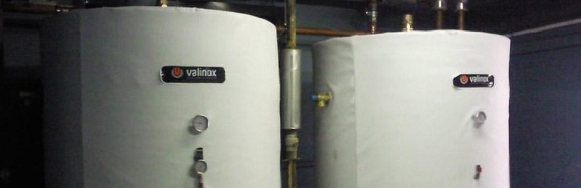 Limpieza y desinfección de acumuladores de agua caliente sanitaria