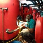 limpieza y desinfeccion de acumuladores de agua caliente sanitaria ACS