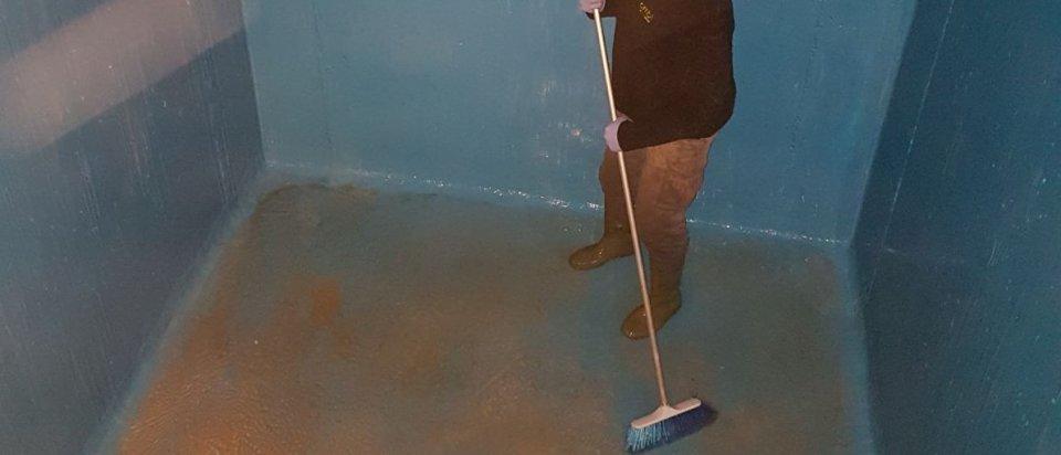 limpieza de depósitos y aljibes