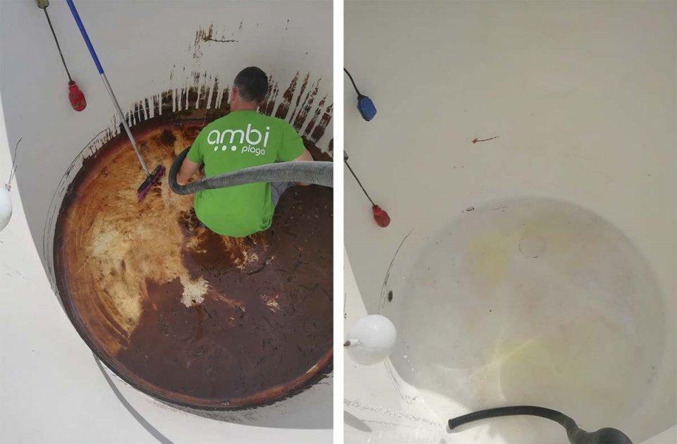 limpieza de depósitos de agua potable en málaga