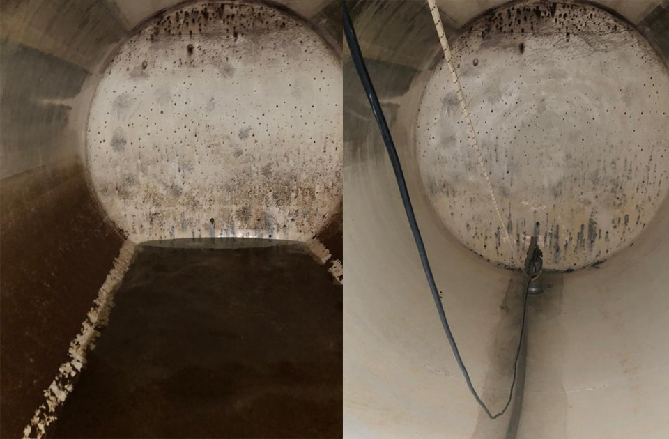 desinfección de aljibes de agua potable